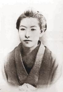 Higuchi Ichiyō, featured at Aozora